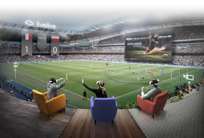 LiveLike : regardez les matchs en réalité virtuelle avec vos amis ! - 2