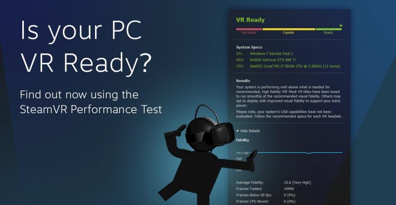 Testez si votre PC est compatible VR avec le SteamVR Performance Test - 2