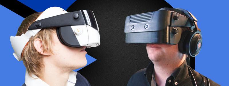 A gauche le design officiel / à droite le prototype testé