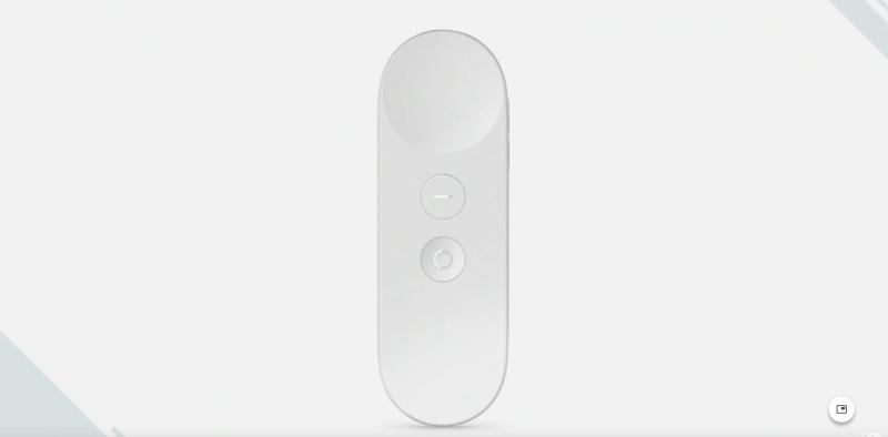 La télécommande/manette VR de Google