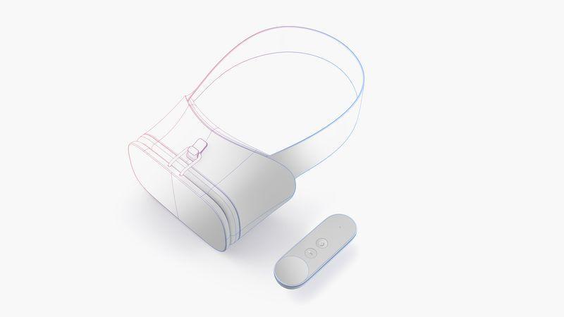 """Google dévoile Daydream et un casque VR """"confortable avec une manette"""" - 2"""
