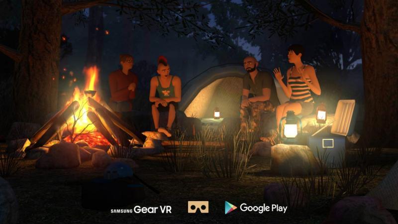 """vTime, le """"réseau social VR"""" disponible sur Oculus Rift - 2"""