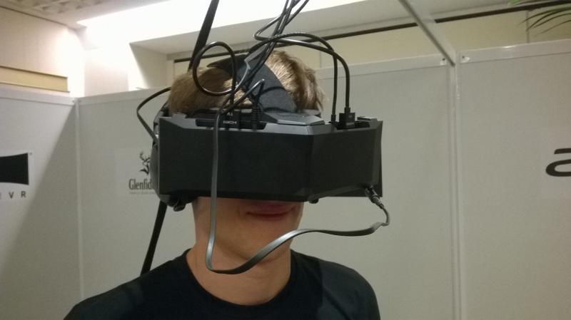 StarVR : Prise en main du casque au FOV de 210° - 12