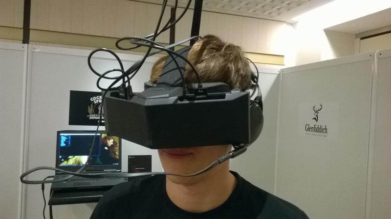 StarVR : Prise en main du casque au FOV de 210° - 13