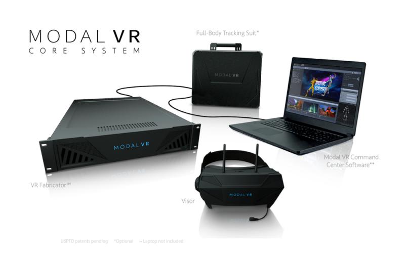 Modal VR, un casque de réalité virtuelle sans fil avec full-body tracking par le cofondateur d'Atari - 4