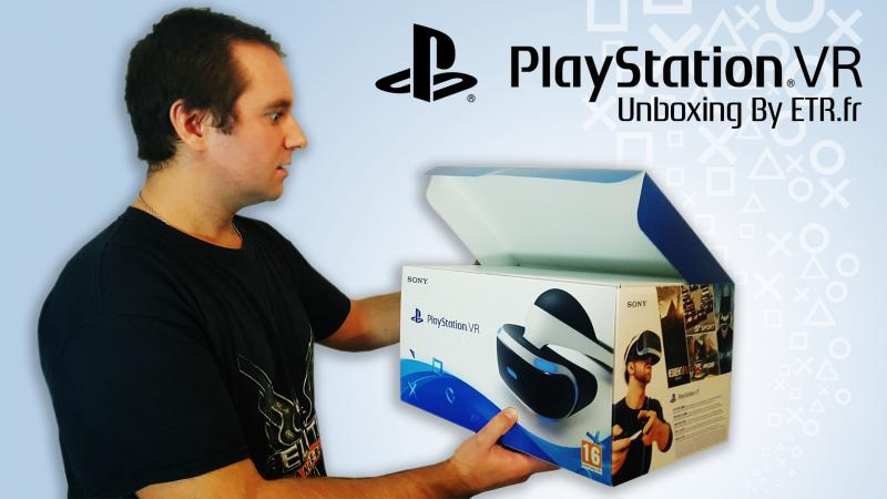 Unboxing du Playstation VR - 2