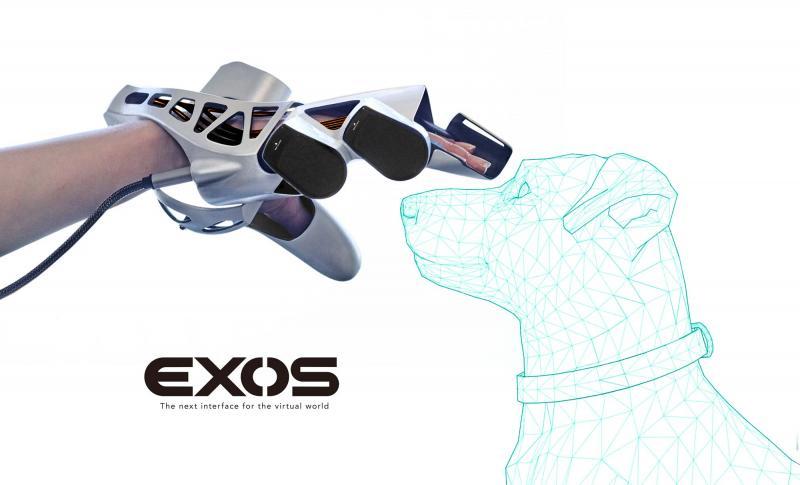 """EXOS : un nouveau gant pour ressentir le """"Toucher"""" en réalité virtuelle - 2"""