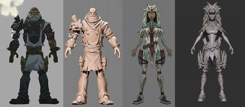 Dead and Buried : Ajout de contenu (armes, personnages, niveau) et améliorations globales - 4