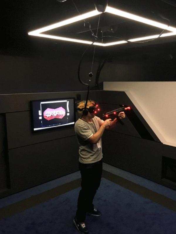 Aperçu de la première salle d'arcade en réalité virtuelle IMAX VR - 14