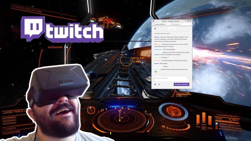 Tutoriel] Le tchat de twitch en VR, c'est possible!