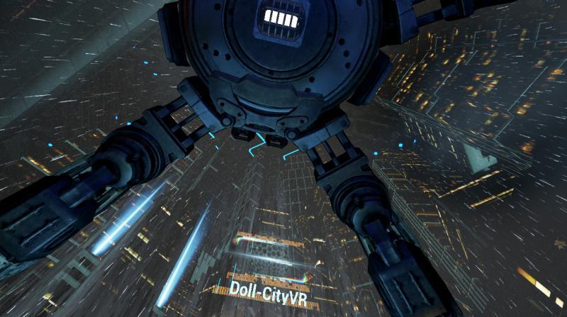 Doll-CityVR : ambiance cyberpunk pour ce jeu de plateforme VR français - 6
